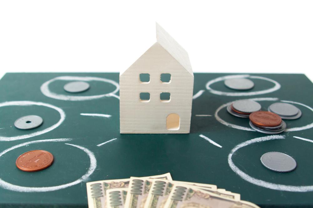 不動産投資 日本円・家の模型